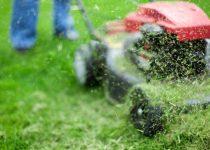Gras mulchen